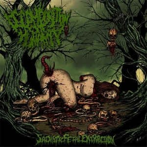 DECOMPOSITION OF HUMANITY - Sadistic Fetal Extraction CD Brutal Death Metal