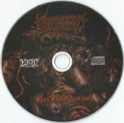 NEURO-VISCERAL EXHUMATION - Mass Murder Festival CD Goregrind