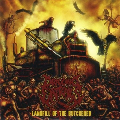 DRAGGING ENTRAILS - Landfill Of The Butchered CD Brutal Death Metal