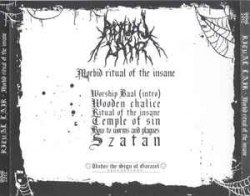 RITUAL LAIR - Morbid Ritual of the Insane CD Black Metal