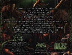 GASTRORREXIS - The Taste Of Putrefaction CD Brutal Death Metal