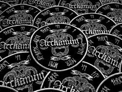 ARCKANUM - Snakes Нашивка Black Metal