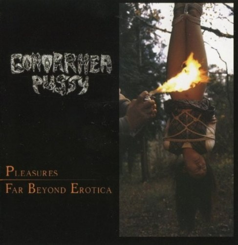 GONORRHEA PUSSY / NECRO TAMPON - Pleasures Far Beyond Erotica / Twisted Treatement Of Periodic Prostitutes CD Grindcore Death Metal