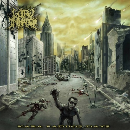 GORE INHALER - Kara Fading Days CD Brutal Death Metal