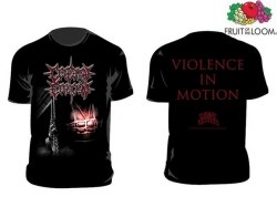 CEREBRAL EFFUSION - Violence in Motion - M Майка Brutal Death Metal