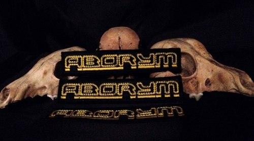 ABORYM - Logo Нашивка Industrial Metal
