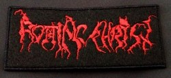 ROTTING CHRIST - Old Logo Нашивка Black Metal