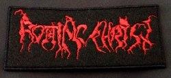 ROTTING CHRIST - Old Logo Нашивка Black Metal