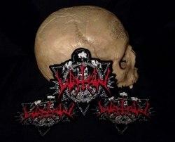 WATAIN - Logo & Skulls Нашивка Black Metal