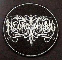 NECROPHOBIC - Logo Нашивка Black Metal