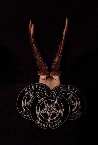 URGEHAL - Ikonoklast Нашивка Black Metal