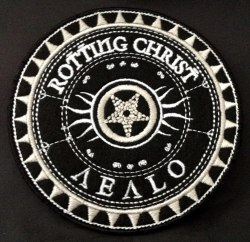 ROTTING CHRIST - Aealo Нашивка Dark Metal