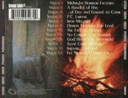 DIVINA ENEMA - Under Phoenix Phenomenon CD Avantgarde Metal