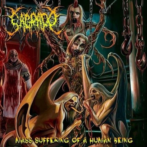 SAGRADO - Mass Sufferings Of A Human Being CD Brutal Death Metal