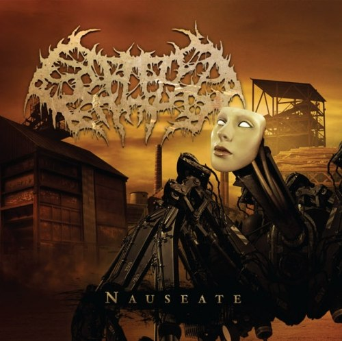 SPLATTERED ENTRAILS - Nauseate CD Brutal Death Metal
