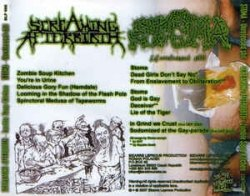 SCREAMING AFTERBIRTH / STOMA - Zombie Soup Kitchen / Unreleased Shit CD Grindcore