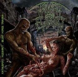 KATALEPSY / FLESHROT / BLUNT FORCE TRAUMA - Triumph Of Evilution CD Brutal Death Metal