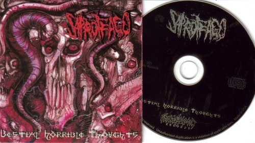 SAPROFFAGO - Bestial Horrible Thoughts CD Brutal Death Metal
