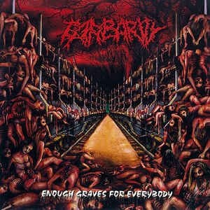 BARBARITY - Enough Graves for Everybody CD Death Metal
