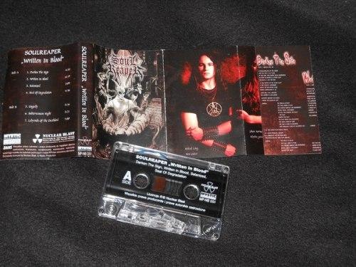 SOULREAPER - Written in Blood Tape Death Metal