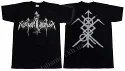 NOKTURNAL MORTUM - New Logo - M Майка Heathen Metal