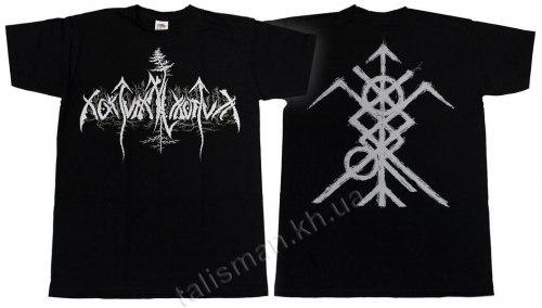 NOKTURNAL MORTUM - New Logo - L Майка Heathen Metal
