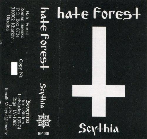 HATE FOREST - Scythia Tape Heathen Metal