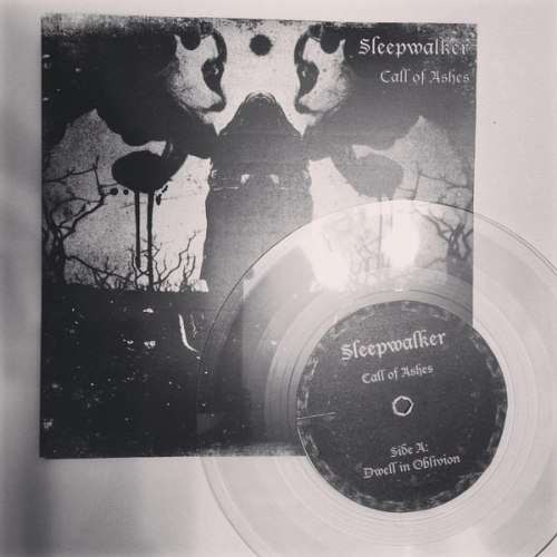"SLEEPWALKER - Call of Ashes 7""EP Experimental Metal"