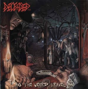 DECEASED - As the Weird Travel On CD Death Thrash Metal
