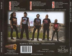 HIRAX - Noise Chaos War CD Thrash Metal
