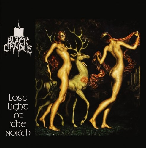 BLACK CANDLE - Lost Light of The North CD Black Metal