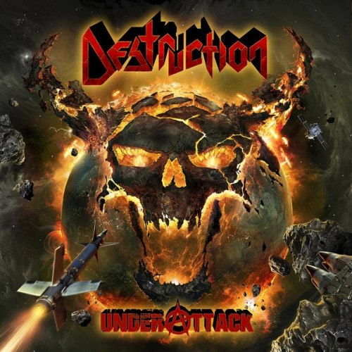 DESTRUCTION - Under Attack Digi-CD Thrash Metal