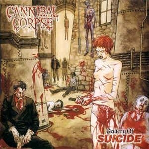CANNIBAL CORPSE - Gallery of Suicide CD Brutal Death Metal