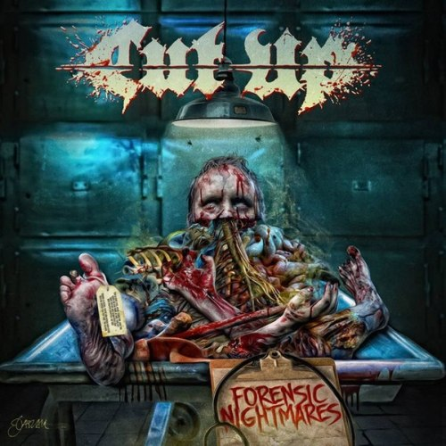 CUT UP - Forensic Nightmares CD Death Metal