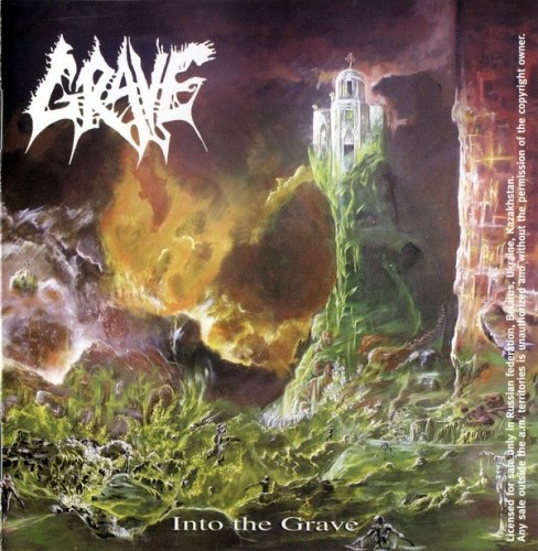 GRAVE - Into The Grave / Tremendous Pain + Demo Tracks CD Death Metal