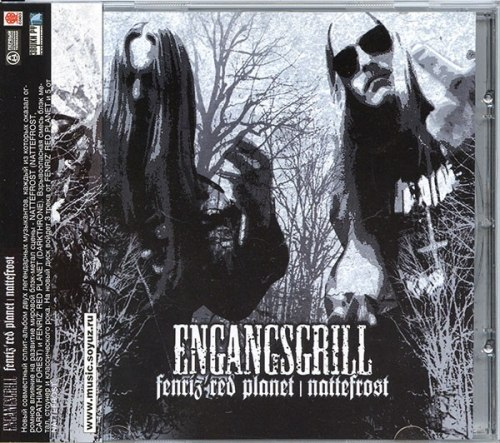 FENRIZ' RED PLANET / NATTEFROST - Engangsgrill CD Blackened Metal