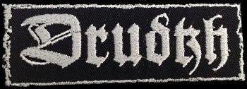 DRUDKH - Logo Patch Нашивка Atmospheric Heathen Metal