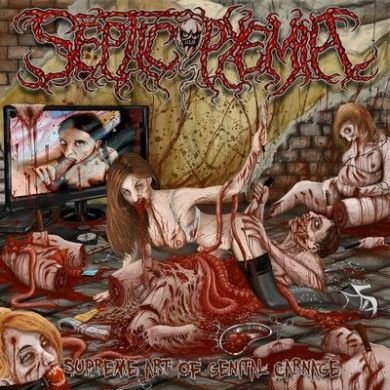SEPTICOPYEMIA - Supreme Art of Genital Carnage CD Brutal Death Metal