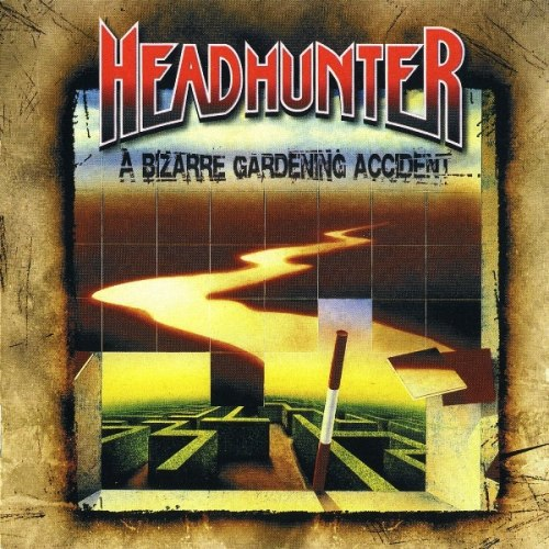 HEADHUNTER - A Bizarre Gardening Accident CD Thrash Metal