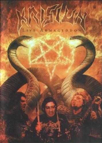 KRISIUN - Live Armageddon DVD Death Metal