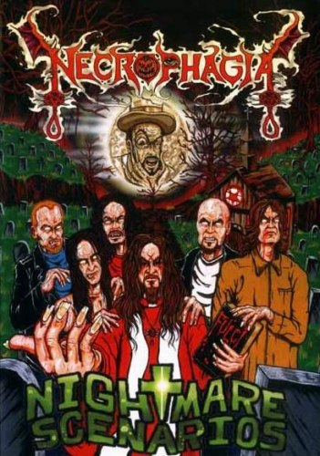 NECROPHAGIA - Nightmare Scenarios DVD Death Metal