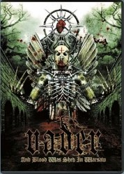 VADER - And Blood Was Shed In Warsaw DVD Death Thrash Metal
