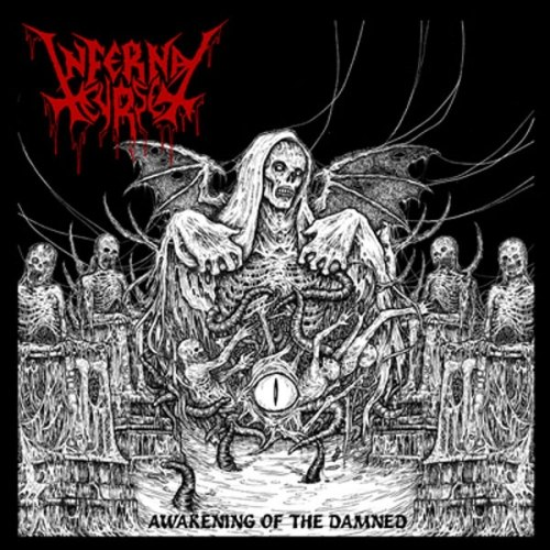 INFERNAL CURSE - Awakening of the Damned LP Black Metal
