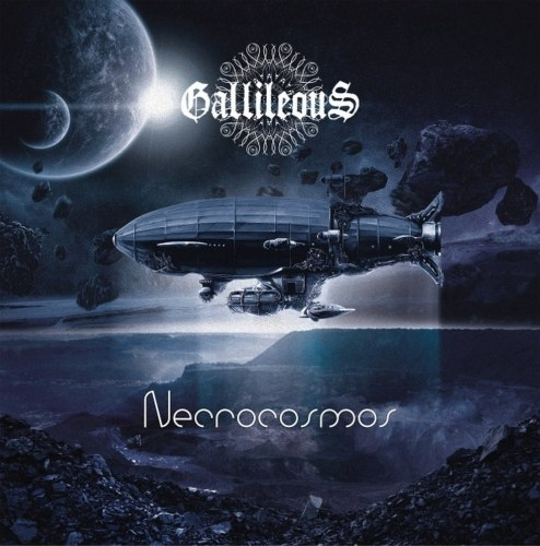 GALLILEOUS - Necrocosmos CD Stoner Doom Metal