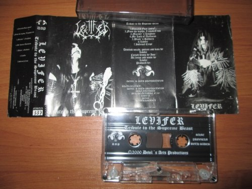LEVIFER - Tribute To The Supreme Beast Tape Black Metal