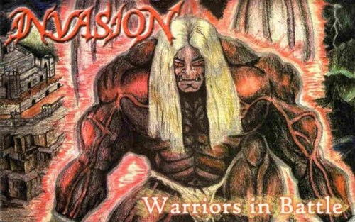 INVASION - Warriors In Battle Tape Death Thrash Metal