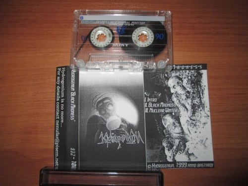 HYDROGENIUM - Black Madness Tape Black Metal