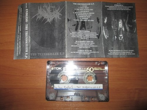THE TRUE ENDLESS - The Trendkiller E.P. Tape Black Metal