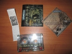 SCRATCHING SOIL - E Nihilo Nihil Tape Blackened Metal
