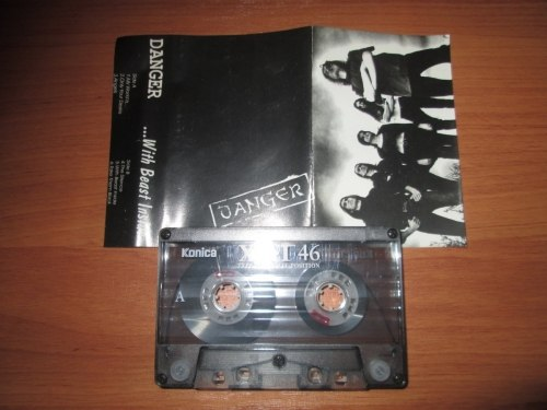 DANGER - ...With Beast Inside Tape Death Doom Metal